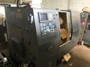 Hardinge Conquest T 42sp Cnc Lathe Underpower Fanuc 18t See Video
