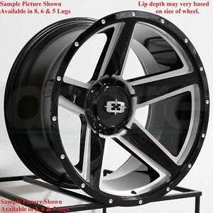 4 New 20 Wheels For Dodge Ram 1500 2001 2002 2003 2005 2005 2006 Rims 1807