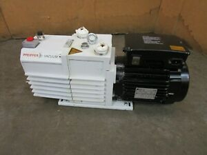 Pfeiffer Twin 20 10 M Pkd53712 9kw Vacuum Pump 100 120 200 240v 1ph 1740rpm