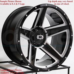 4 New 20 Wheels For Dodge Ram 1500 2013 2014 2015 2016 2017 2018 Rims 1807