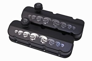 Big Block Chevy Valve Cover With Skulls