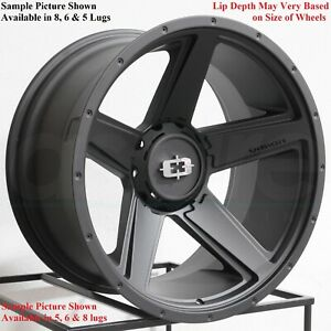 4 New 20 Wheels For Dodge Ram 1500 2007 2008 2009 2010 2011 2012 Rims 1808