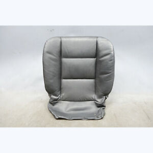 1993 1995 Bmw E34 5 Series Factory Front Seat Pair Black Bison Leather Oem