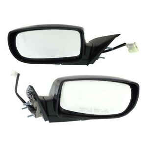 Mirror Set For 2010 2016 Hyundai Genesis Coupe Primed With Turn Signal