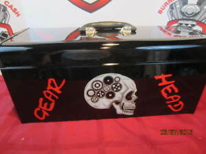 Custom Painted Craftsman Tool Box Air Brushed gear Head One off Original