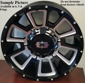 4 New 20 Wheels For Dodge Ram 1500 2007 2008 2009 2010 2011 2012 Rims 1810