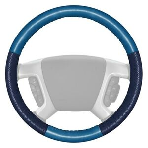 For Acura Rsx 02 06 Steering Wheel Cover Europerf Perforated Sea Blue Steering