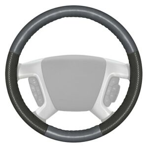For Audi A4 15 16 Steering Wheel Cover Europerf Perforated Gray Steering Wheel
