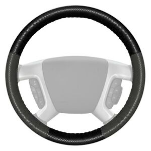 For Ford Expedition 16 18 Steering Wheel Cover Europerf Perforated Black