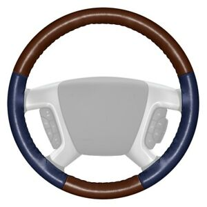 For Volkswagen Eurovan 93 96 Steering Wheel Cover Eurotone Two color Brown