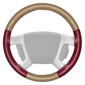 For Volkswagen Eurovan 93 96 Steering Wheel Cover Eurotone Two color Sand