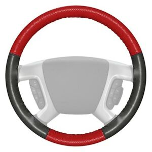 For Dodge Ram 3500 94 97 Steering Wheel Cover Europerf Perforated Red Steering