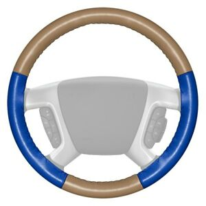 For Dodge Ram 1500 98 04 Steering Wheel Cover Eurotone Two color Sand Steering