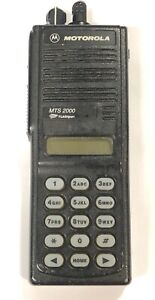Motorola Mts2000 800 Mhz Model Iii Portable H01uch6pw1bn H38 Smartzone Systems