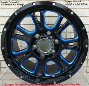 4 New 20 Wheels For Dodge Ram 1500 2013 2014 2015 2016 2017 2018 Rims 1813