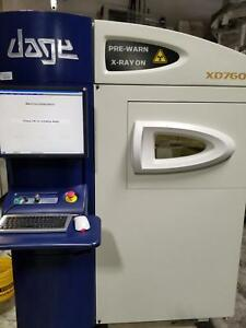 Dage Xd7600 X ray Inspection System refurbished Fully Operational