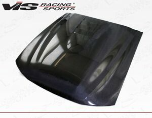 For Mustang 99 04 Ford Cobra R 2000 Vis Racing Carbon Fiber Hood 99fdmus2dcr 010