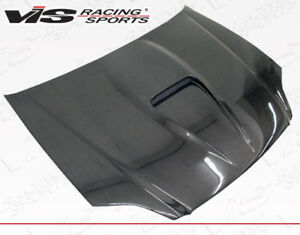 Civic 96 98 Honda 2dr G Force Vis Racing Carbon Fiber Hood 96hdcvc2dgf 010c