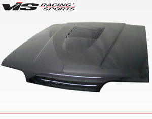 For Mustang 94 98 Ford Cobra R 2000 Vis Racing Carbon Fiber Hood 94fdmus2dcr 010