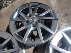 2016 17 Toyota Prius 16 Alloy Wheels Rims 5x100 Lugnuts