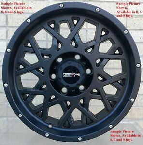 4 New 20 Wheels For Dodge Ram 1500 2007 2008 2009 2010 2011 2012 Rims 1820
