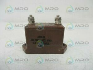 Cornell Dubilier 3366 6l Capacitor Used