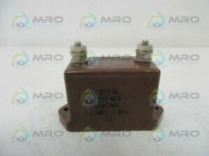 Cornell Dubilier 3377 6l Capacitor Used
