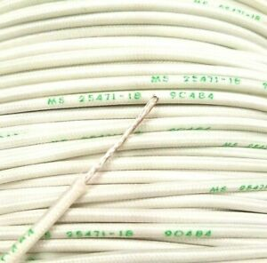 25 Foot 18 Awg Gauge Silver Plated Copper Wire Silicone High Temp Stranded Usa