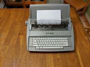 Brother Sx 4000 Electric Electronic Typewriter Ready To Go