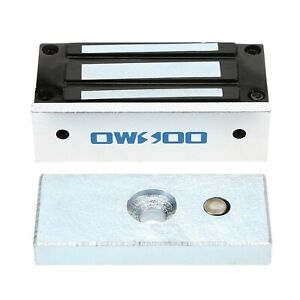 Owsoo 60kg 132lbs Holding Force Electric Magnetic Lock For Door Access Co New
