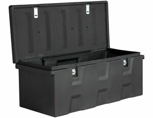 44 Tool Chest Large Utility Poly All Purpose Storage Box Truck Bed Garage 6 3cf