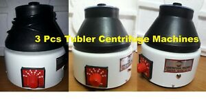 New 3 Pcs Blood Centrifuge Machine Laboratory Tubler