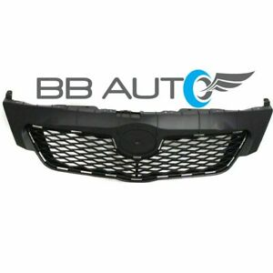 New Upper Front Bumper Grille Grill Black For 2009 2010 Toyota Corolla