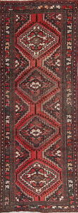 3x9 Wool Persian Rug Vintage Tribal Runner Rugs Hand Knotted 8 10 X 3 4