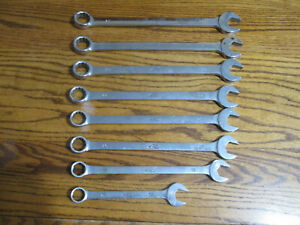 Mac Tools Open End Box End 12 Point Metric Wrench Set 17 18 20 21 22 23 24 25