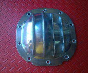 Rear End Cover Finned Polished Aluminum 8 8 Gear Mustang Ford F150 Differential