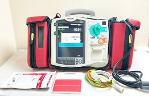uk Seller Philips Mrx Heartstart Aed Defib With Co2 Ecg M3535a Dom 2010 Fr2