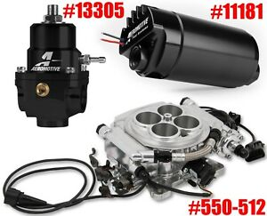 Holley 550 512 Sniper Efi 4150 Super Sniper 1250 Hp Forced Induction Bt Combo