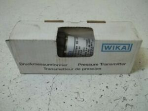 Wika 12244236 Pressure Transmitter 0 10000 Psi New In Box