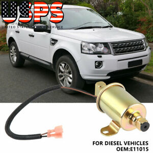E11015 Electric Fuel Oil Transfer Pump For Diesel Vehicles Golden Us Seller
