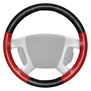 For Ford F 150 12 16 Steering Wheel Cover Eurotone Two color Black Steering