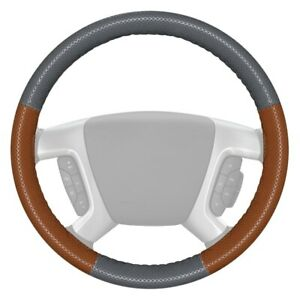 For Ford F 150 12 16 Steering Wheel Cover Europerf Perforated Gray Steering
