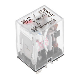 Jqx 13f Ac110v Coil Dpdt 8pins Red Light Electromagnetic Power Relay