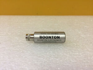 Boonton 952006 10 Khz To 500 Mhz 1 25 Vswr Bnc f 75 Ohm Adapter Tested