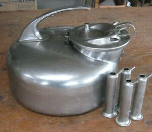 The Surge Milker Stainless Steel Milking Pail W Lid