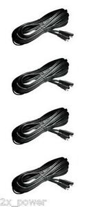 4 Pack Deltran Battery Tender 12 5 Ft Extension Cables Lead 12 5 12 5ft
