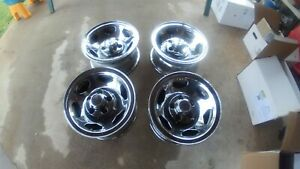 1988 1999 Chevy 1500 Ss Sport 454 Oem 15 Chrome Steel 5x5 Wheel Rim W Caps