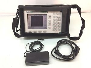 Anritsu Ms2711d Handheld Spectrum Analyzer Master 100khz 3ghz W Opt 3