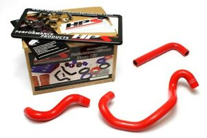 Hps Red Reinforced Silicone Heater Hose Kit For Mazda 86 92 Rx7 Fc3s Non Turbo