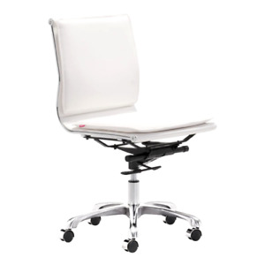 Best Chairs Lider Plus Armless Office Chair White